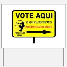 EVERYBODY VOTES Yard Sign