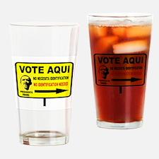 EVERYBODY VOTES Drinking Glass