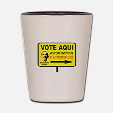 EVERYBODY VOTES Shot Glass