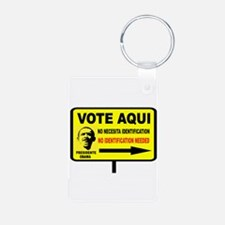 EVERYBODY VOTES Aluminum Photo Keychain