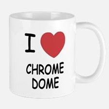 I heart chrome dome Mug