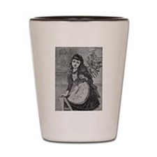 1905 Holiday Decorating Shot Glass