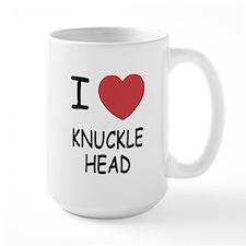 I heart knucklehead Mug