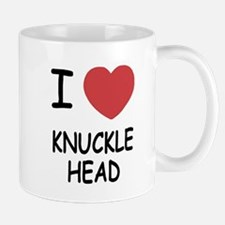 I heart knucklehead Mug