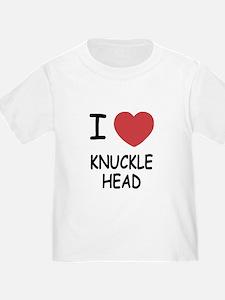 I heart knucklehead T