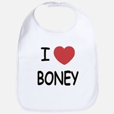 I heart boney Bib