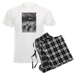 1905 Sledding Men's Light Pajamas