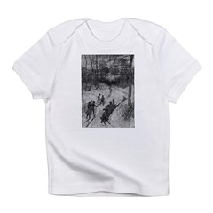 1905 Sledding Infant T-Shirt