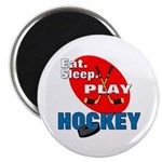 Eat Sleep Play Hockey Magnet