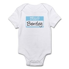 Hello, My Name is Bentley - Infant Bodysuit