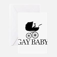 Gay Baby Greeting Card