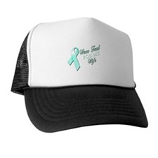 I Wear Teal for my Wife Trucker Hat