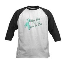I Wear Teal for my Sister In Tee