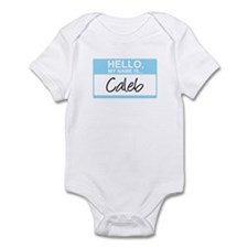 Hello, My Name is Caleb - Infant Bodysuit