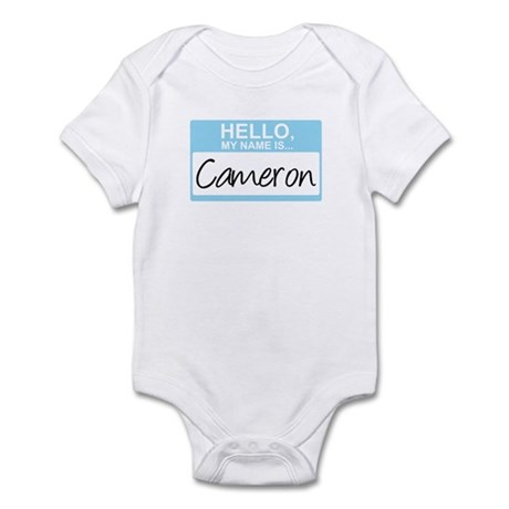Hello, My Name is Cameron - Infant Bodysuit