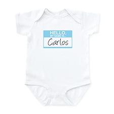 Hello, My Name is Carlos - Infant Bodysuit