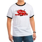 Eat Sleep Play Hockey Ringer T