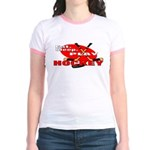 Eat Sleep Play Hockey Jr. Ringer T-Shirt