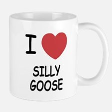 I heart silly goose Mug