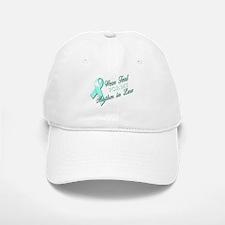 I Wear Teal for my Mother In Baseball Baseball Cap