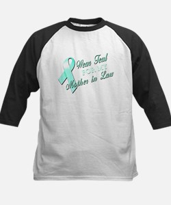I Wear Teal for my Mother In Tee