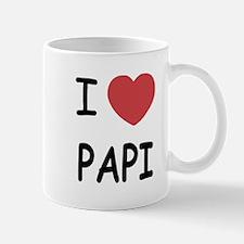 I heart papi Mug