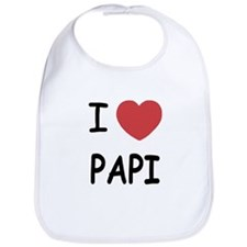 I heart papi Bib