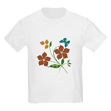 Material Flowers T-Shirt