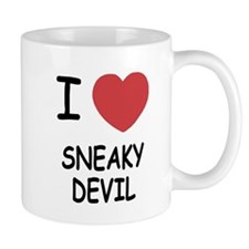 I heart sneaky devil Mug