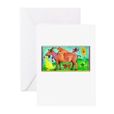 Watercolor Animals Greeting Cards (Pk of 10)