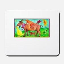 Watercolor Animals Mousepad