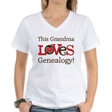 Grandma Genealogy Shirt