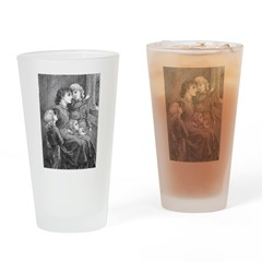 1905 First Snowfall Drinking Glass
