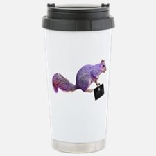 Purple Squirrel Stainless Steel Travel Mug