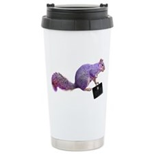 Purple Squirrel Travel Mug