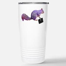 Purple Squirrel Travel Mug