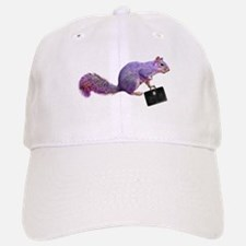 Purple Squirrel Baseball Baseball Cap