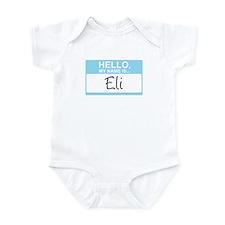 Hello, My Name is Eli - Infant Bodysuit
