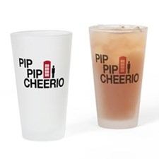 Pip Pip Drinking Glass