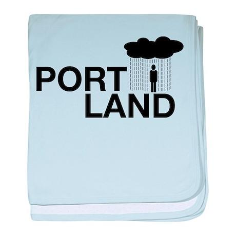 Portland baby blanket