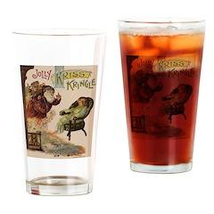 1901 Jolly Kris Kringle Drinking Glass