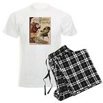 1901 Jolly Kris Kringle Men's Light Pajamas