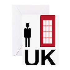 UK Greeting Cards (Pk of 10)
