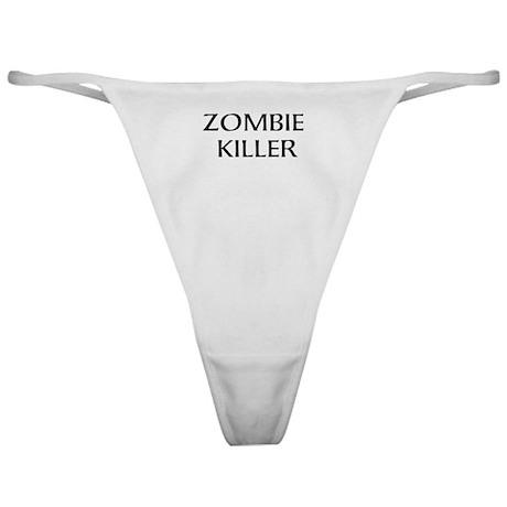 zombie killer Classic Thong