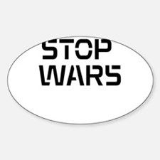 stop wars Decal