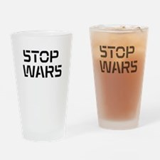 stop wars Drinking Glass