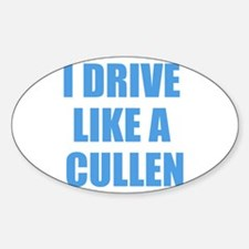 Twilight - I Drive Like A Cul Decal