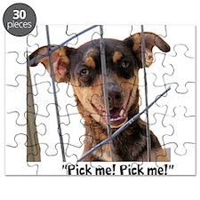 """""""Pick me!"""" Pup Puzzle"""