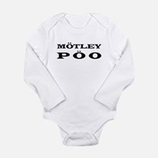 """Motley Poo"" Long Sleeve Infant Bodysuit"