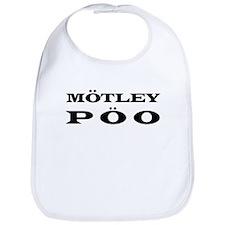 """""""Motley Poo"""" Bib"""